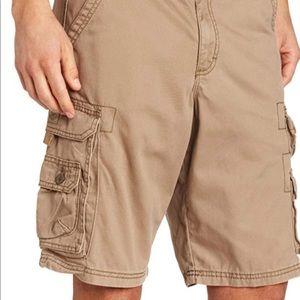 Lee Men's Dungaree cargo shorts